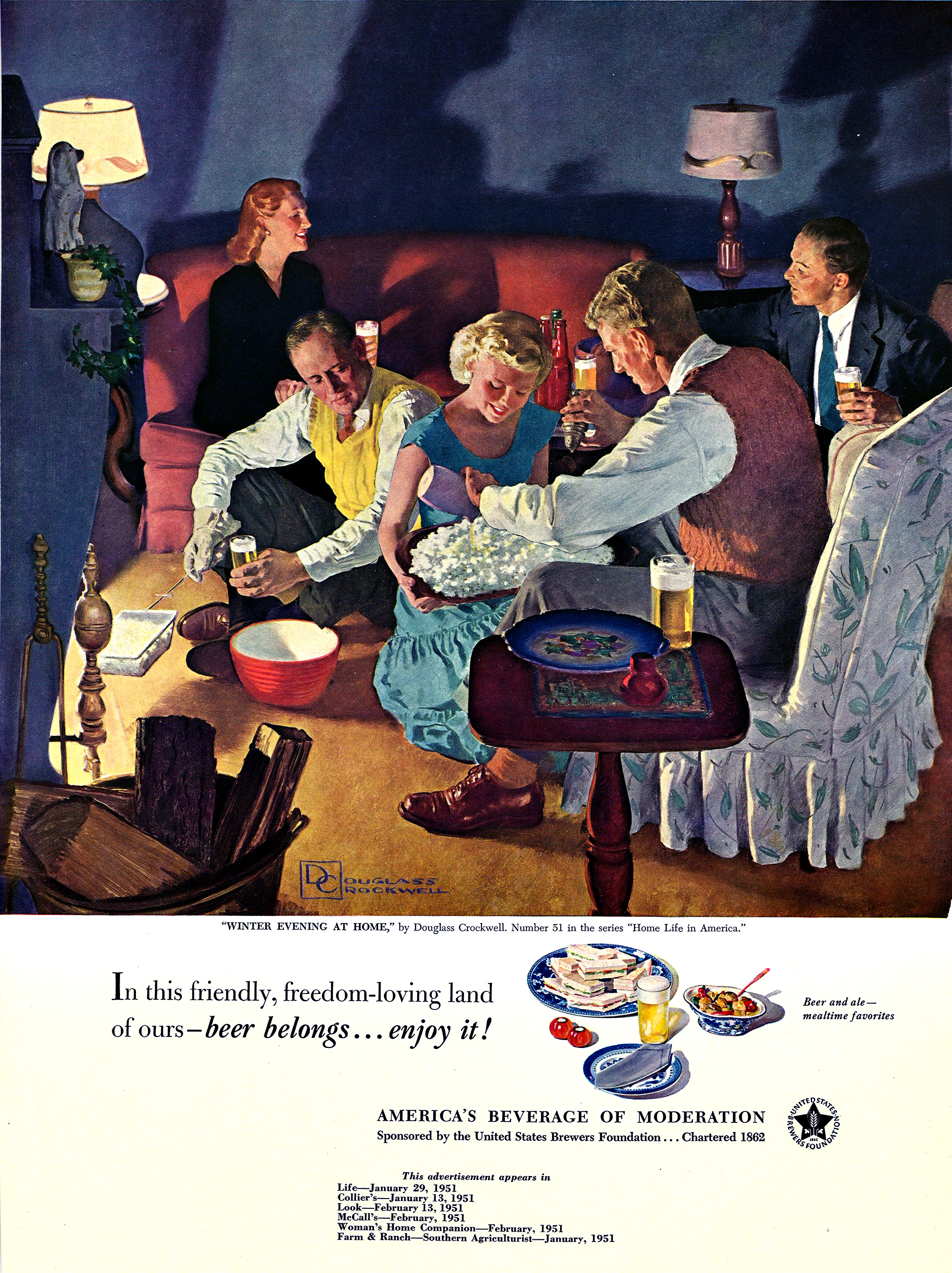 http://moviecollectoroh.com/pics_to_hotlink_on_TCM/Winter Evening at Home by Douglass Crockwell, 1951.jpg